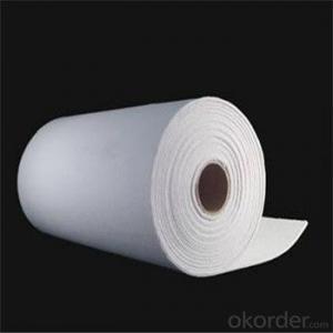 Ceramic Fiber Paper High Alumina Fire Resistant Insulation