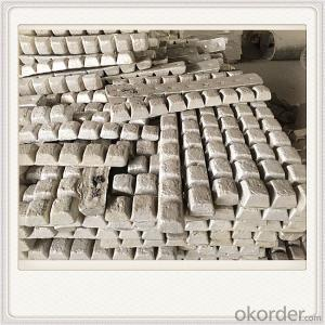 Mg99.80 Magnesium Alloy Ingot Plate Good Quality Ingot