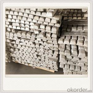 Mg99.90 Magnesium Alloy Ingot Plate Good Quality Ingot