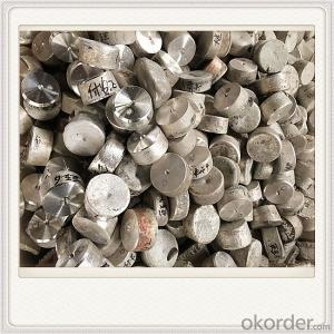 9998 Magnesium Alloy Ingot Plate Good Quality Ingot