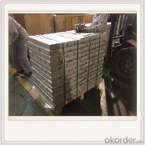 High Pure MG9990 Magnesium Alloy Ingot Plate Good Quality Ingot
