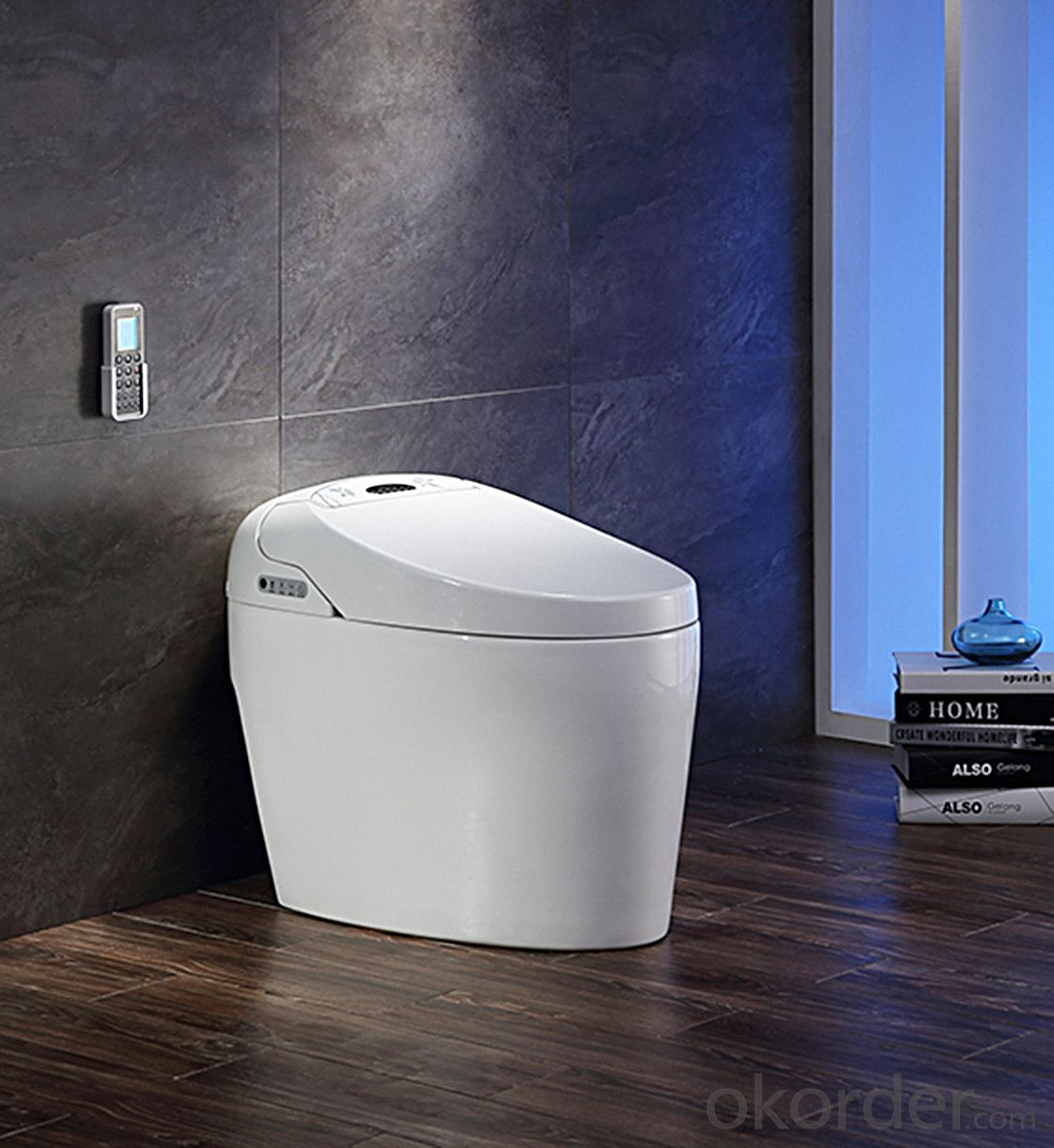 Efficiency Toilet  2510B no water tank Massage cleaning