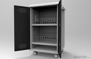 Laptops/chromebooks 16 outlets charging cabinet