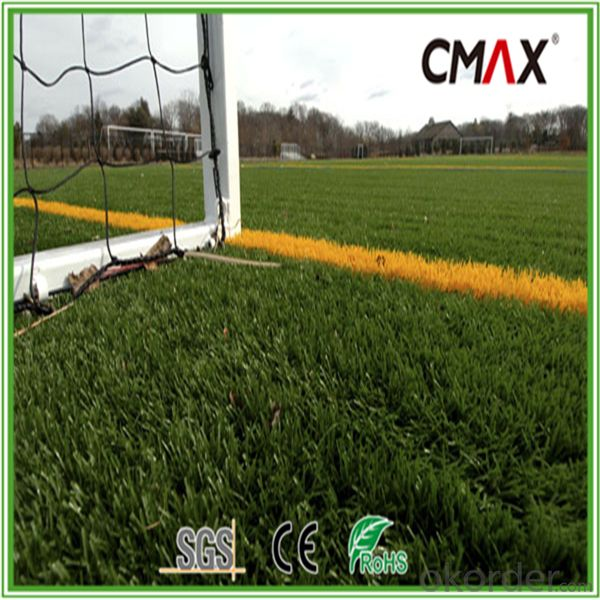 MST-55 Football Pitch Artificial Turf Memory Effect Football Grass