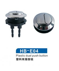 Plastic Dual toilet push button multiple specifications optional