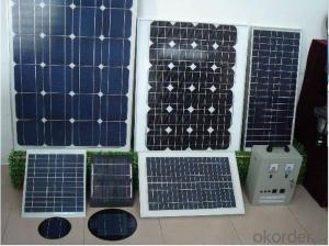 130-150W Solar Energy Products OEM Solar Modules