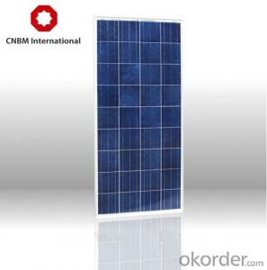 80-130W Solar Energy Products OEM Solar Modules