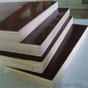 ZNSJ  4ft x 8ft laminated panel for shuttering film faced plywood