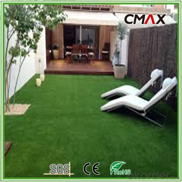 Landscape Synthetic Grass Anti-slip for Swimming Pool