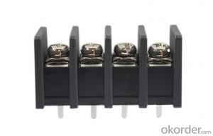 4-pole Barrier Style Terminal Blocks Pitch 10.0mm
