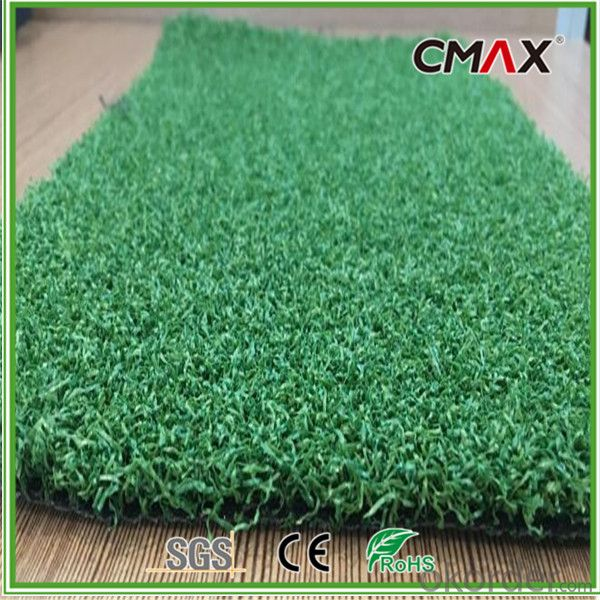 Golf Putting Green Artificial Grass in 12mm PP Pile