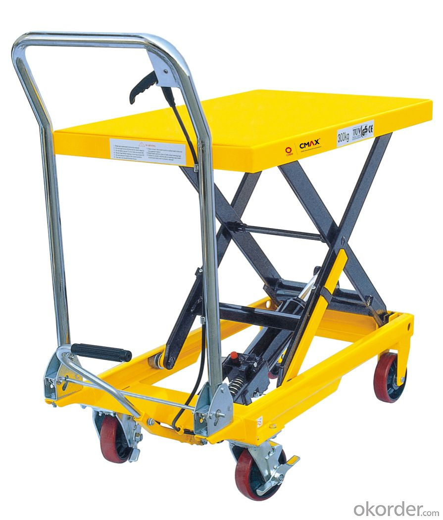 Lift Table Scissor Lift Table U.S. Type Manual Lift Table SP800