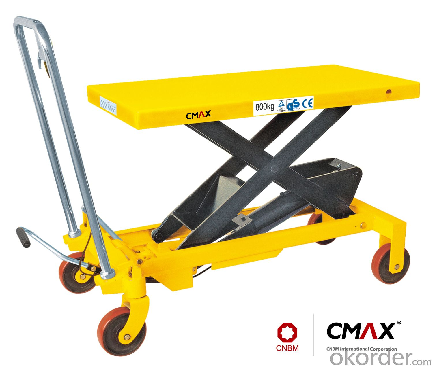 Lift Table Scissor Lift Table U.S. Type Manual Lift Table SP150/300/500