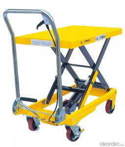 Lift Table Scissor Lift Table Mini Manual Lift Table SPT500