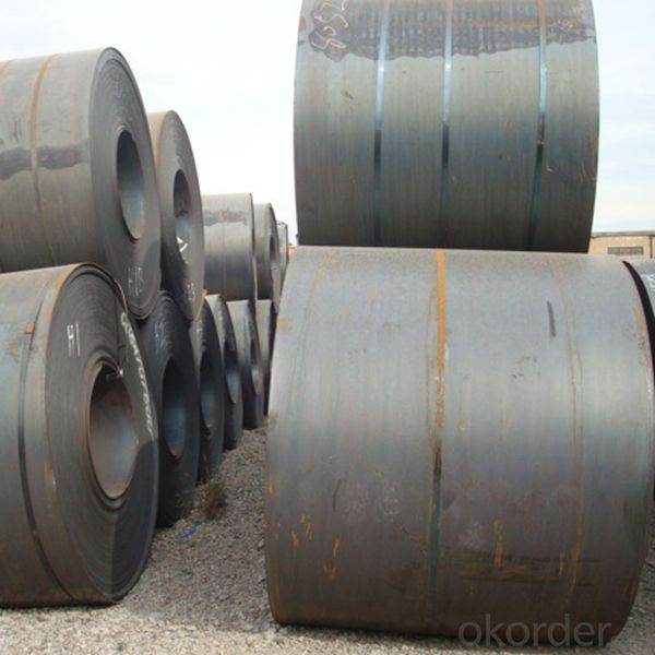 Hot Rolled Steel Coils Steel Sheets SS400 Good Quality