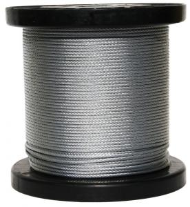 Pre-cut Galvanized Wire Rope Cable with High Resistance