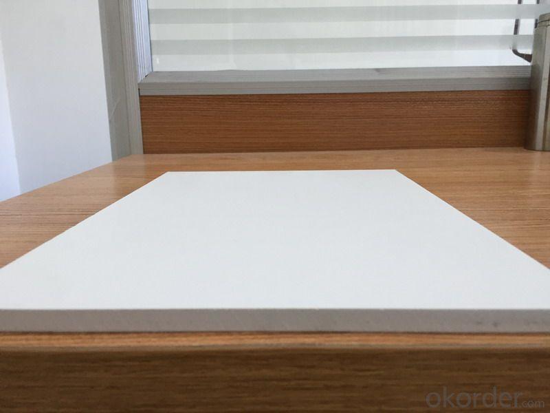 White  PVC Form Board Waterproof  Fireproof 5-20mm 2050*3050mm