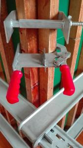 light adjustable steel corner clamp formwork