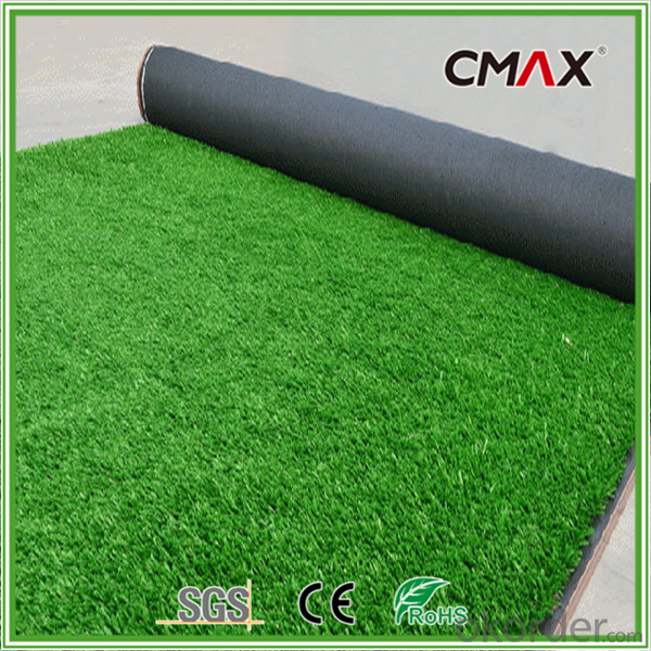 Turf Grass for Cricket Synthetic Lawn with 12mm Fiber