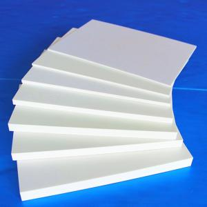 White PVC Crust Celuka Forex PVC Foam Board for Architectural Decoration
