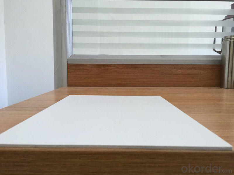 White  PVC Form Board Waterproof  Fireproof 2-4mm 2050*3050mm