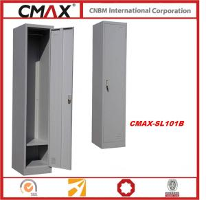 One Door Steel Locker with Cloth hanger for Commercial Usage / for School, Gym, Staff  CMAX-SL101B