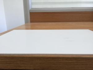White  PVC Form Board Waterproof  Fireproof 1mm 2050*3050mm