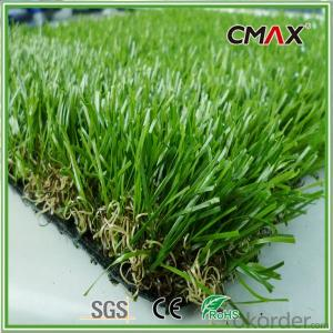 Soft Hand Feeling Artificial Turf for Kindergarten Playground Carpet