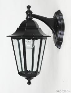 CE APPROVED E27 100W traditional outdoor garden light