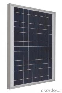 320W Mono Solar PV Modules with Black Backsheet