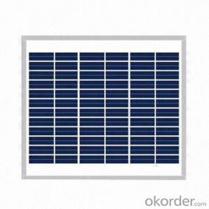 165W Solar Panel with Good Quality Solar Cells