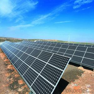 5W-250W Monocrystalline Solar Panel Made in China