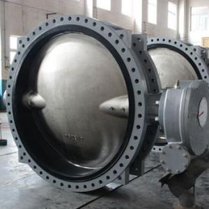 BUTTERFLY VALVE CENTER LINE TYPE DUCTILE IRON DN1000 - DN2200 ISO/ BS EN/ DIN/ API