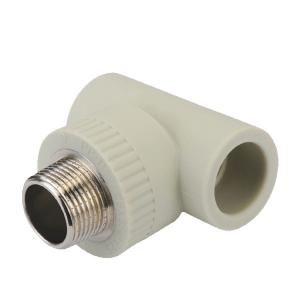 PPR Male Threaded Tee Elbow Plastic Pipe Fittings