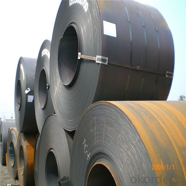 Hot rolled pickled and oiled steel coil different grade