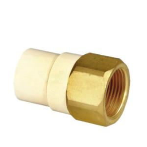 BRASS THREADED FEMALE ADAPTOR CPVC ASTM D2846