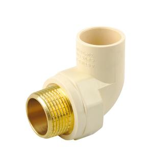 CPVC BRASS THREADED MALE ELBOW ASTM D2846 Plastic Pipe
