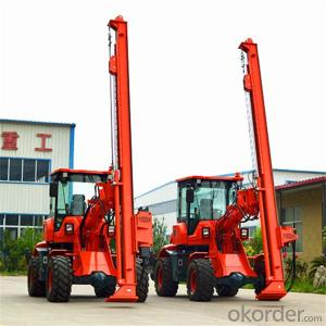 Constrution pile driver drilling machine PD4000 screw pile driver for sales