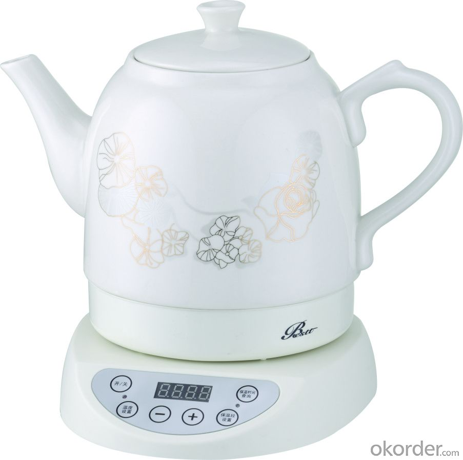 360 rotation ceramic pot/cordless kettle