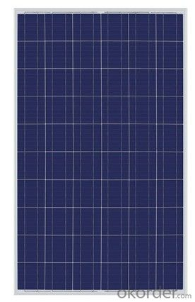 CE and TUV Approved 110W Poly Solar Panel