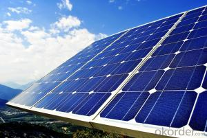 CE and TUV Approved 255W Poly Solar Panel
