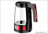 360 rotation electric kettle with glass pot  WK-1203