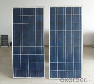Solar Monocrystalline 125mm Panel Series from China