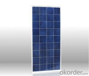 Monocrystalline Silicon solar panel 125mm