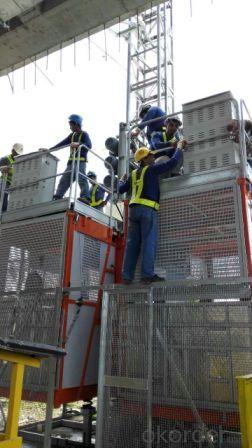Building Hoist SC200 Single Cage Type Construction Elevator
