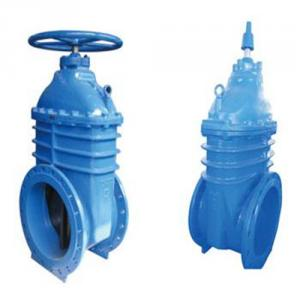 Cast Iron Gate Valve Resilient Seated Flanged Gate Valve  Structure: Gate Pressure: Medium