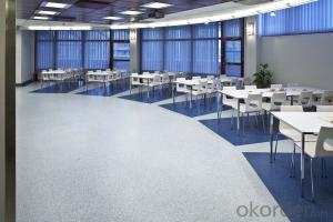 Micro Bevel Uniclic PVC Flooring with Fibreglass