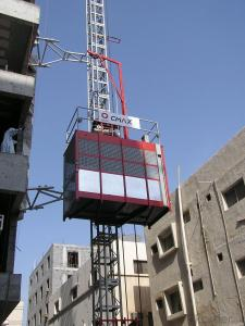 Building Hoist SC200 Single Cage Type Construction Elevator