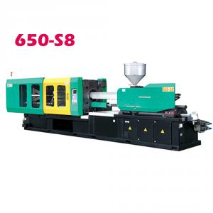 Injection molding machine LOG-650S8 QS Certification