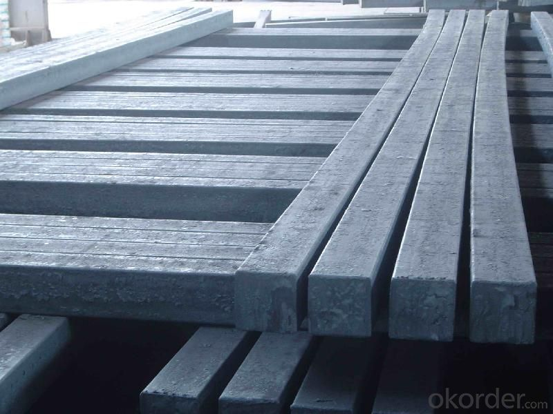 Prime quality square alloy steel billet 155mm Q235